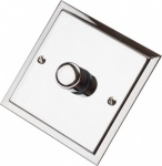 Single Step Polished Chrome Dimmer Switch