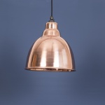 The Brindley Pendant In Smooth Copper