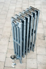 Victorian 4 Column Cast Iron Radiators