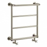 Arcade Babble Towel Radiator - Nickel