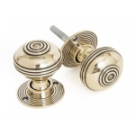 Bloxwich Door Knobs - Brass