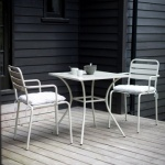 Dean Street Square Table & 2 Chair Bistro Set