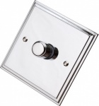 Edwardian Polished Chrome Dimmer Switch