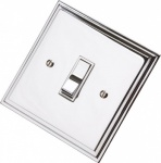 Edwardian Polished Chrome Rocker Switches