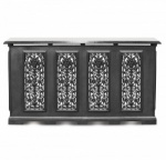 4 Panel Cast-Iron Radiator Cover