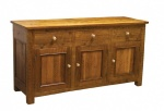 3 Door 3 Drawer Sideboard Square Post