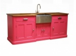 Belfast Unit R/E Oak top Painted