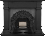 The Rococo Cast Iron Fireplace Package