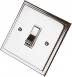 Single Step Polished Chrome Rocker Switches