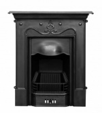 The Tulip Cast Iron Fireplace