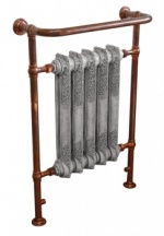 Wilsford Heated Towel Rail Copper