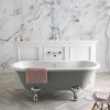 BC Designs Elmstead 1500mm Double Ended Bath & Overflow