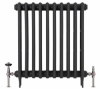 UK-28 Thermostatic Cast Iron Radiator Valve - Black Nickel