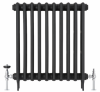 UK-28 Thermostatic Cast Iron Radiator Valve - Polished Chrome