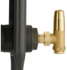 UK-12 Manual Cast Iron Radiator Valve - Antique Brass