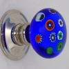 Millefiori Glass Door Knobs