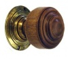 Oak St Pauls Door Knobs