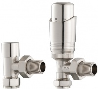 UK-11 Thermostatic Cast Iron Radiator Valves