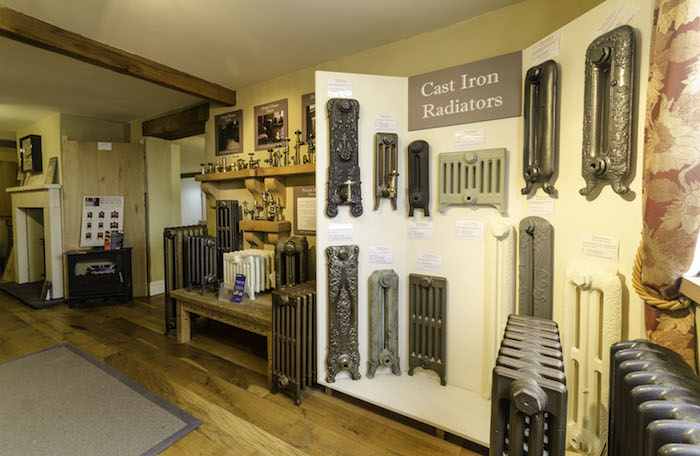 Our Very Own Cast Iron Radiator Showroom