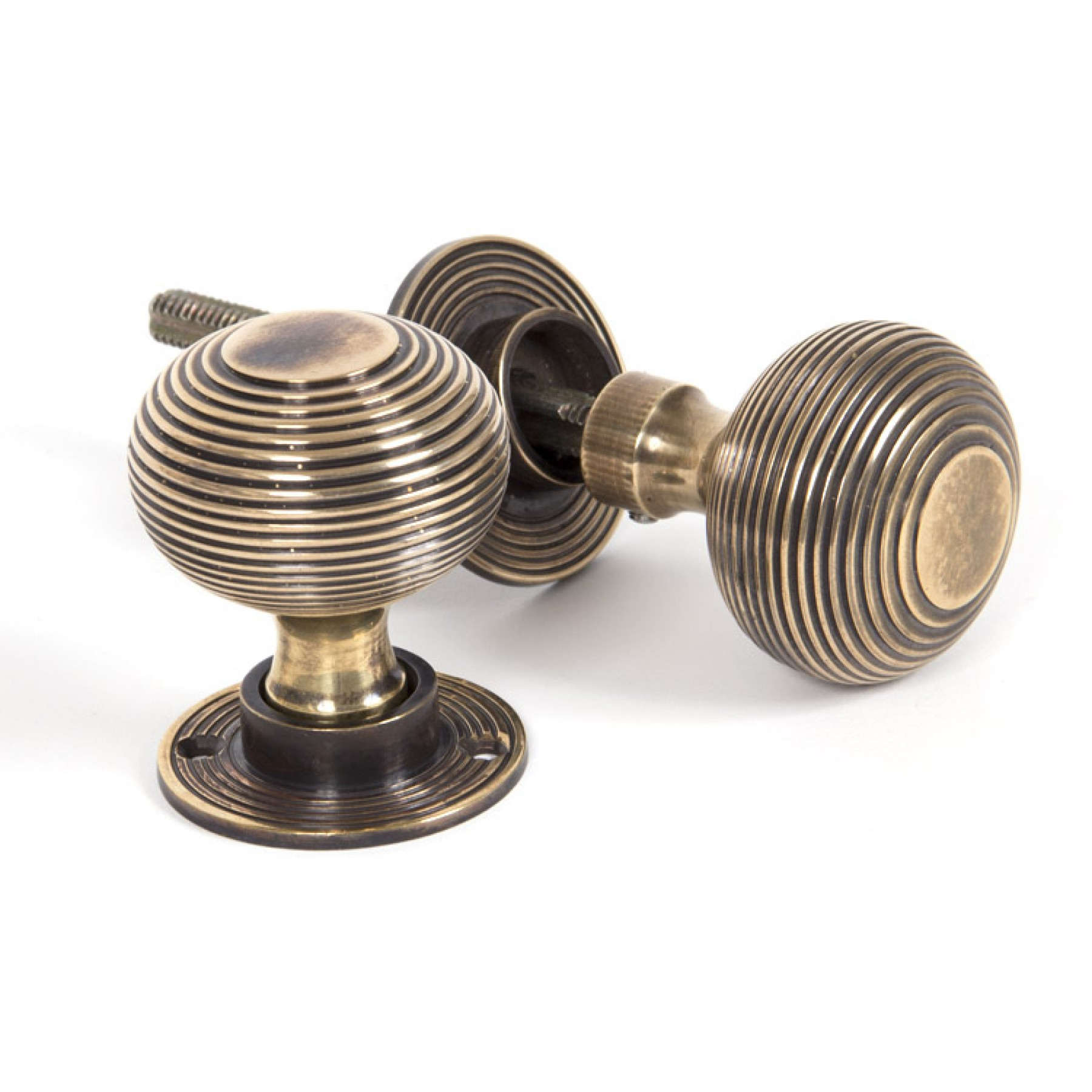 Period Door Furniture - Brass Door Knobs