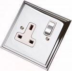 Polished Chrome Electrical Sockets & Switches
