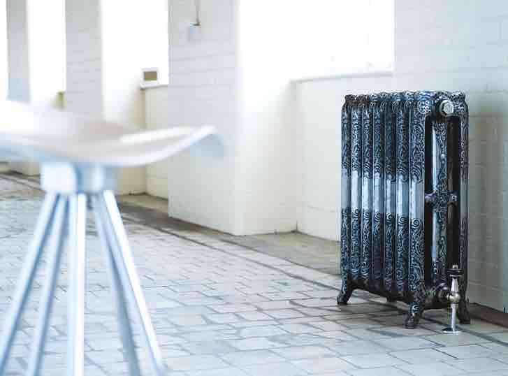 Parisian 3 Arroll Cast Iron Radiators