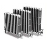 Carron Victorian 4 Column Cast Iron Radiators