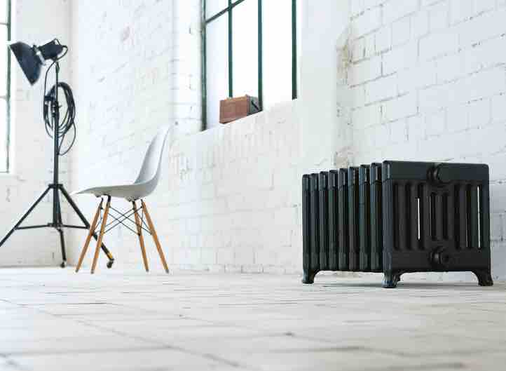 Victorian 9 Arroll Cast Iron Radiators