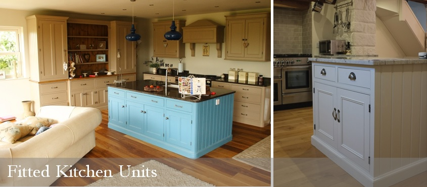 Fitted Kitchen Units - beautifully handmade to personalise your kitchen.