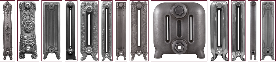 Handburnished Cast Iron Radiators