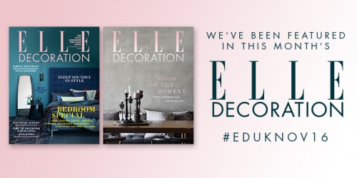 Feature in Elle Decoration Magazine