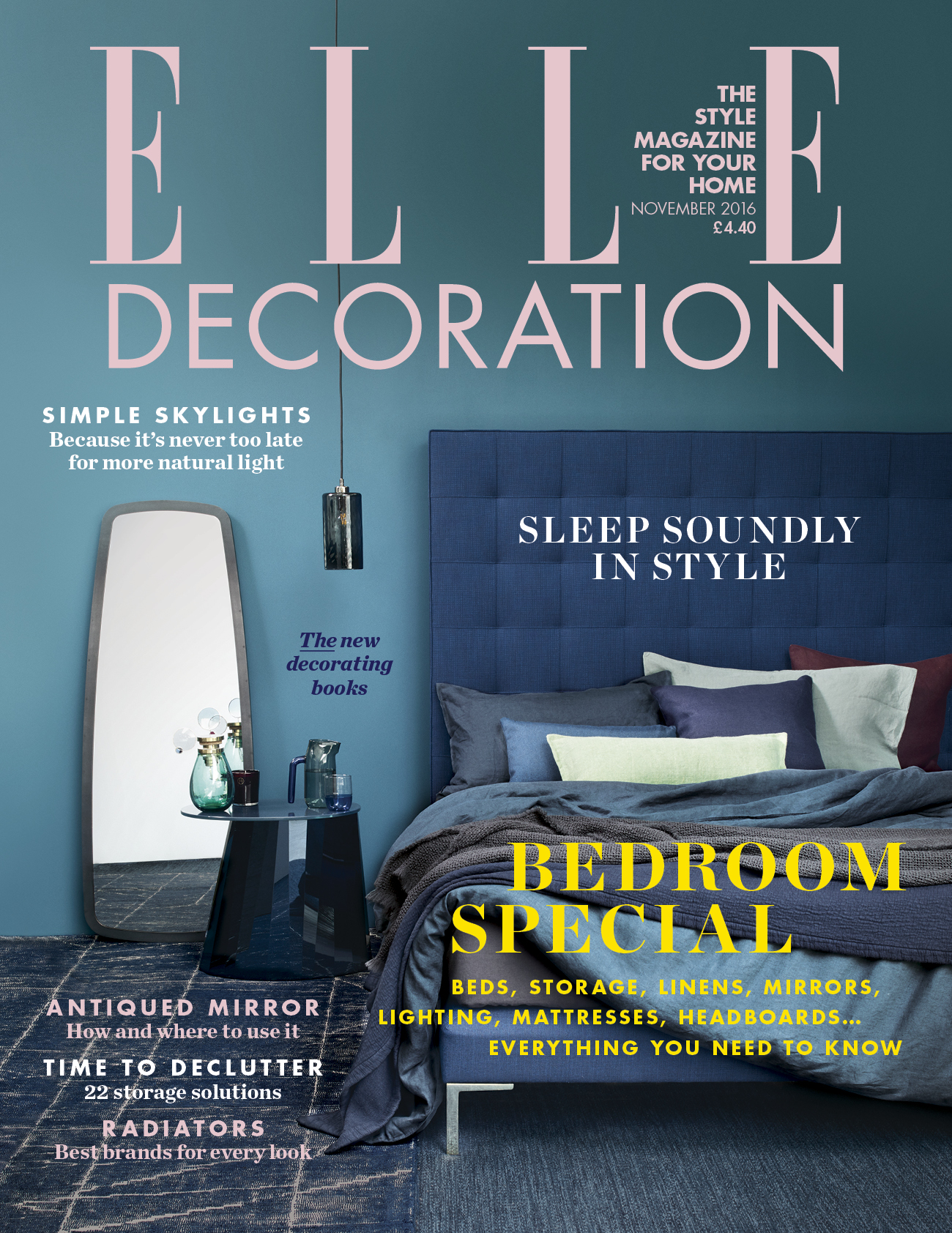 Feature in elle decoration magazine for Elle deco magazine