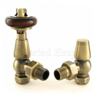 Windsor Cast Iron Radiator Valve Antique Brass
