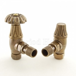 Buckingham Manual Radiator Valve Brass