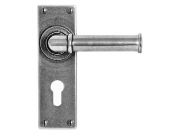 FD183E4 Finesse Lever on Lock Backplate