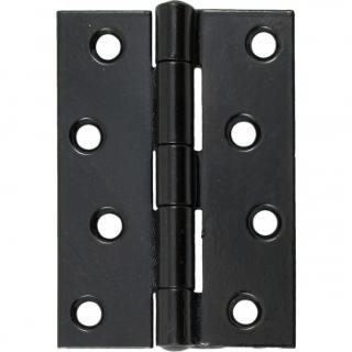 Black 4'' Butt Hinge (Pair)