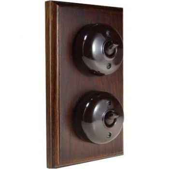 2 Gang Bakelite Switch