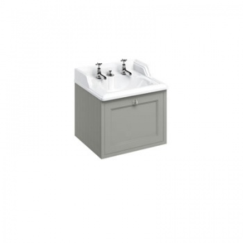 Wall Hung 65 Vanity Unit single drawer - Invisible Overflow