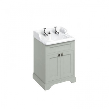 Freestanding 65 Vanity Unit with doors - Invisible Overflow