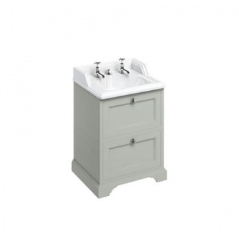 Freestanding 65 Vanity Unit with drawers - Invisible Overflow