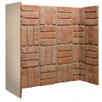 3 Piece Brick Chamber (Cobbled Red Basket Weave)