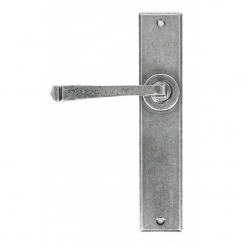 Pewter Large Avon Lever Latch Set