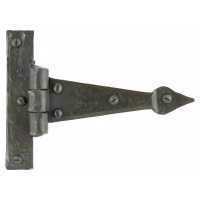 Beeswax 4'' Arrow Head T Hinge (Pair)