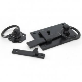 Black Cottage Latch - Right Hand
