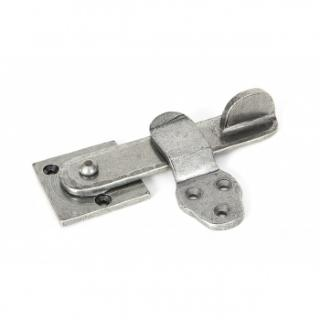 Pewter Patina Privacy Latch Set