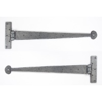 Pewter 18'' T Hinge (Pair)