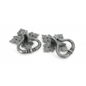 Pewter Shakespeare Ring Turn Handle Set