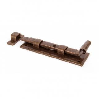 Bronze 6'' Straight Door Bolt