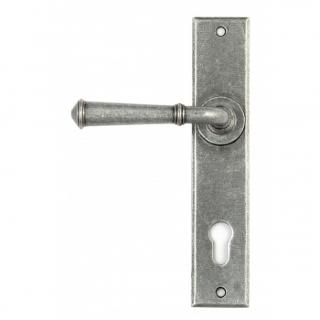 Pewter Regency Lever Espag. Lock Set