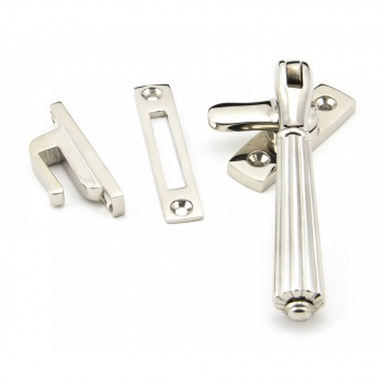 Polished Nickel Locking Hinton Fastener